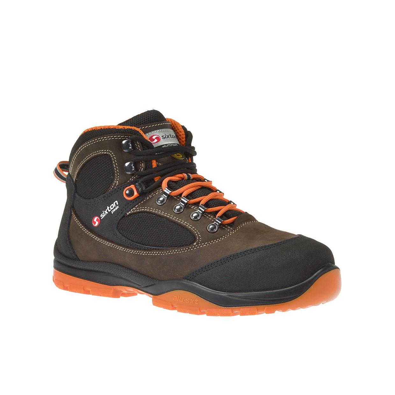 Werkschoenen Maat 35.Sixton Peak Werkschoenen Sound S3 Bruin Zwart Oranje Maat 35 De