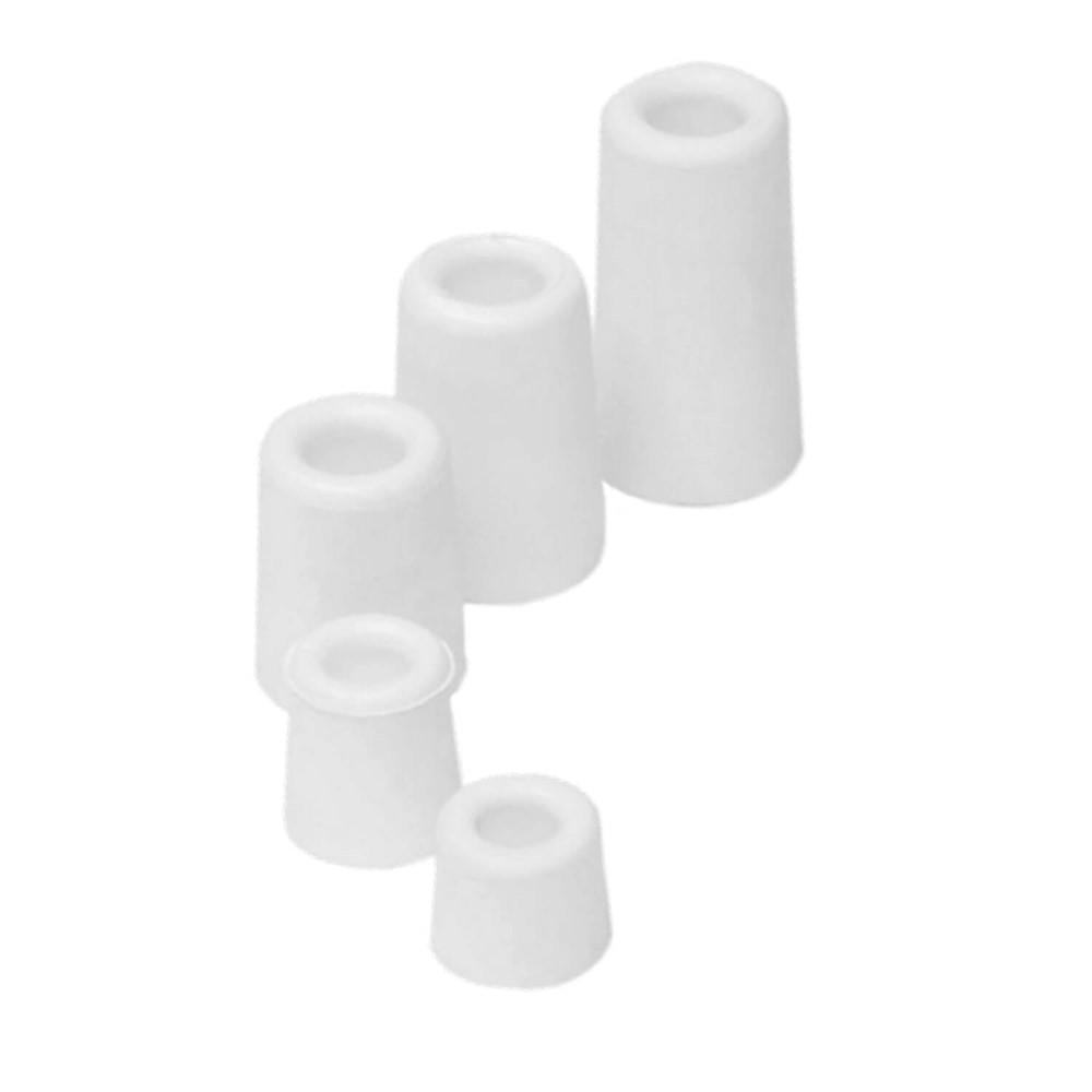 Afbeelding van Deurstop Rubber 50 mm wit