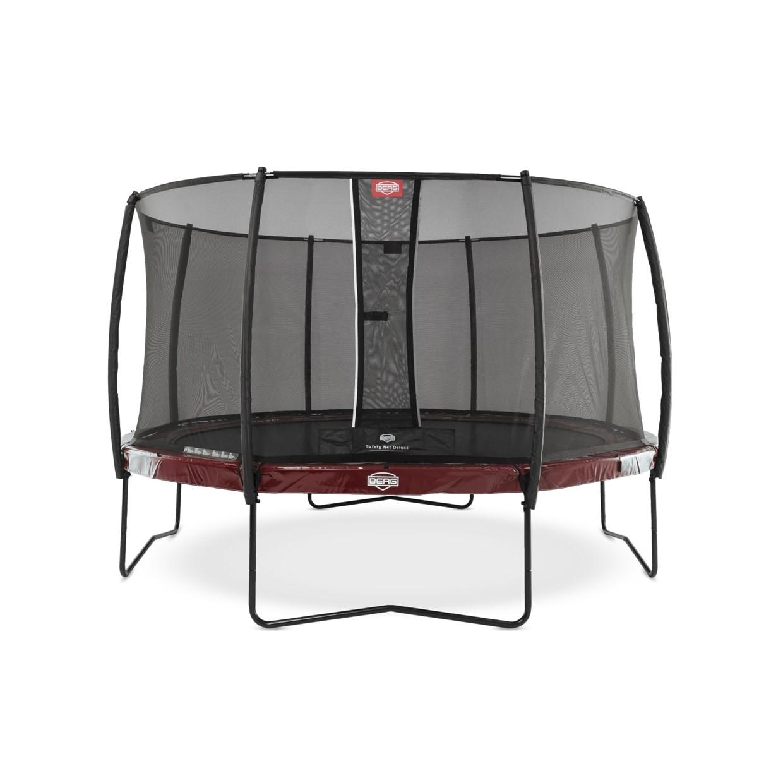 berg trampoline elite 430 cm safety net deluxe rood de boer. Black Bedroom Furniture Sets. Home Design Ideas
