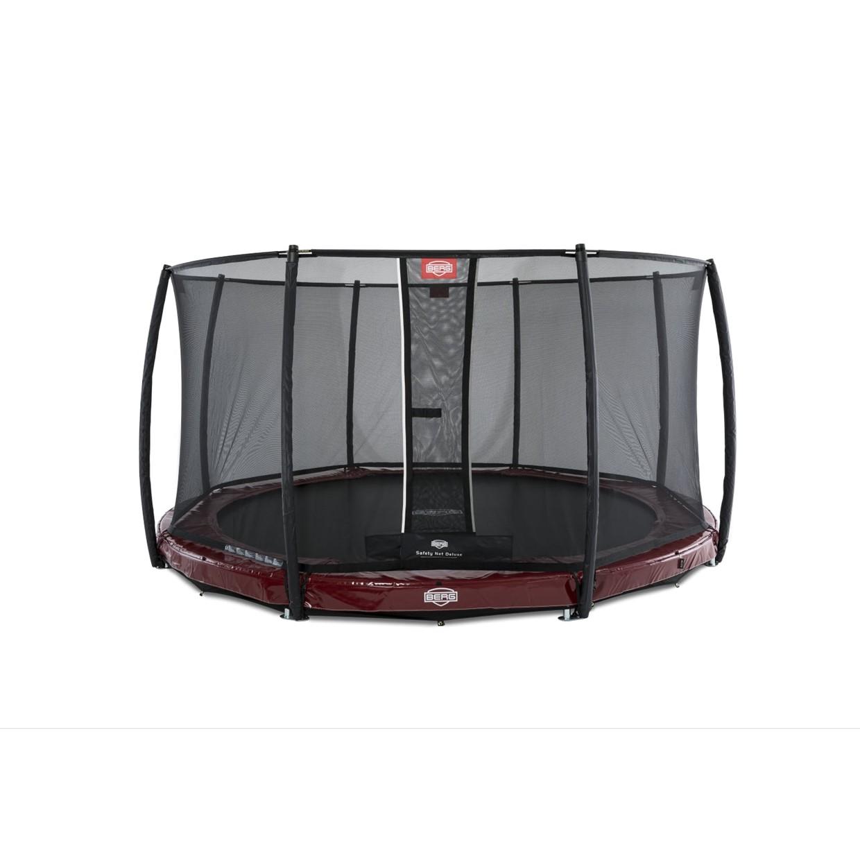 berg trampoline inground elite 430 cm safety net deluxe rood de boer. Black Bedroom Furniture Sets. Home Design Ideas