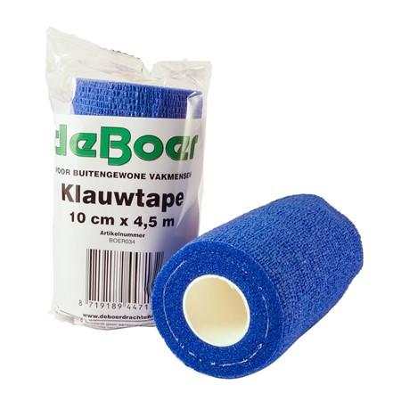 De Boer Klauwtape - 10 Cm x 4,5 Meter