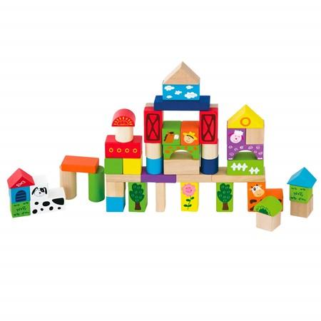 New Classic Toys Blokken 50 Stuks