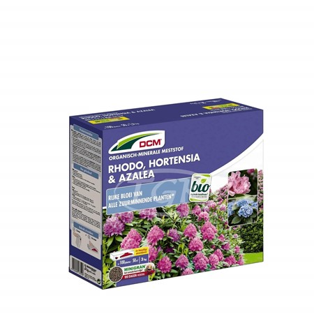 DCM Meststof Rhodo, Hortensia & Azalea 3 kg