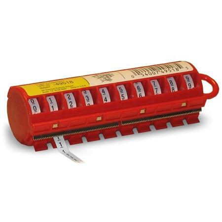 Kabel/Ader Coderingdispenser 0 t/m 9