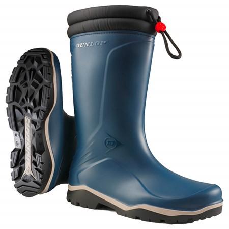 Dunlop Winterlaars Blizzard Thermo Blauw Maat 36