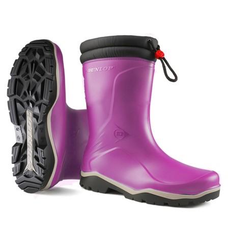 Dunlop Blizzard Gevoerde Kinderlaars Roze maat 24