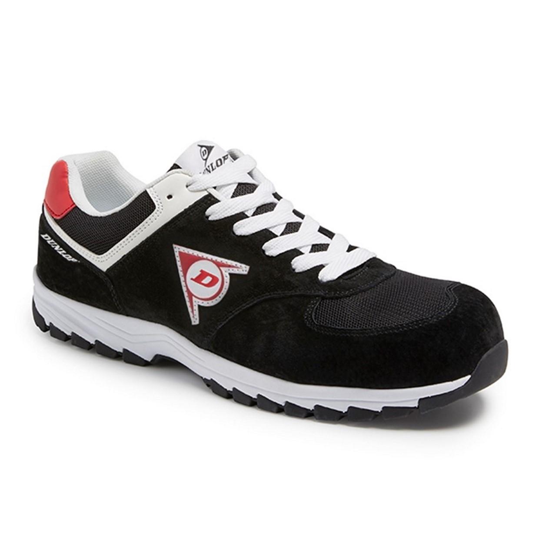 Werkschoenen 36.Dunlop Werkschoenen Flying Arrow S3 Sneaker Zwart Maat 36 De Boer