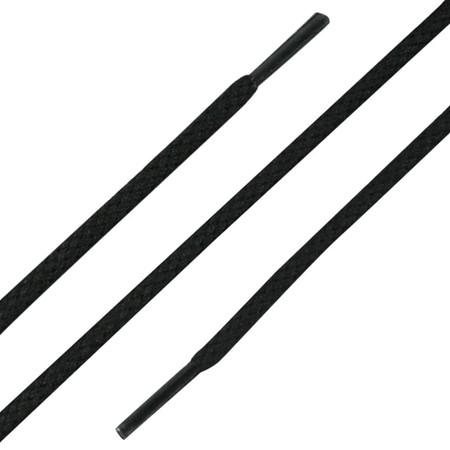Veters 150 cm Zwart Rond