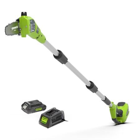 Greenworks Takkenzaag 24 Volt Met 2.0 Ah Accu En Lader