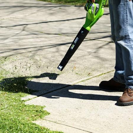Greenworks Accu Bladblazer/-zuiger 40 Volt Zonder Accu En Lader