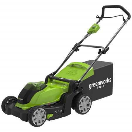 Greenworks Accu Grasmaaier 40 Volt 41 CM Zonder Accu En Lader