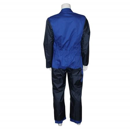 Havep Basic Polyester/Katoen Melkersoverall 2346 Korenblauw/Marine Maat 50