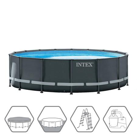 Intex Ultra XTR Frame Zwembad Ø 488 x 122 cm