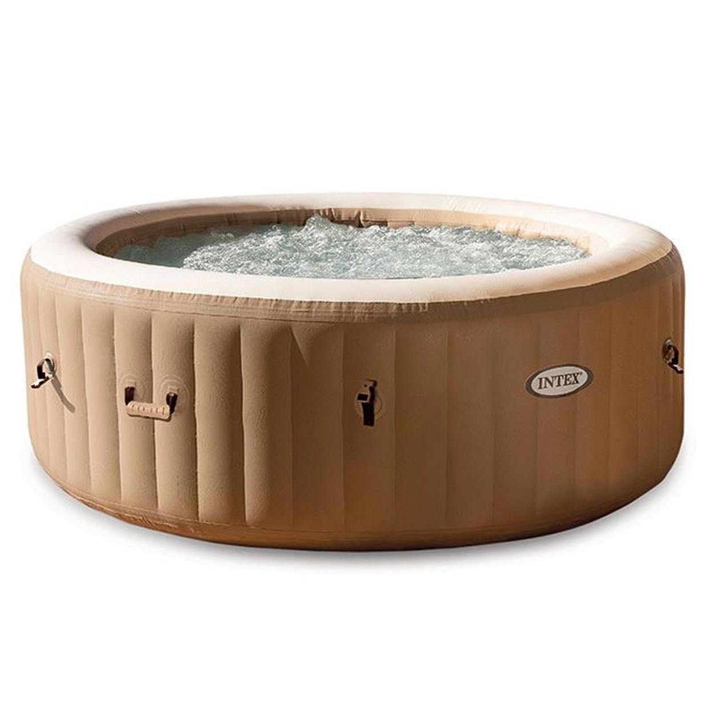 Intex purespa bubble massage rond 216 cm de boer drachten for Zwembad rond 3 meter intex
