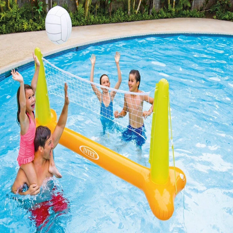Intex zwembad volleybal set de boer drachten for Zwembad intex