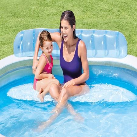 Intex Familie Lounge Zwembad 224 x 216 cm