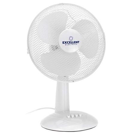 Ventilator Tafelmodel Wit 30 CM