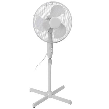 Ventilator Staand Wit 40 CM
