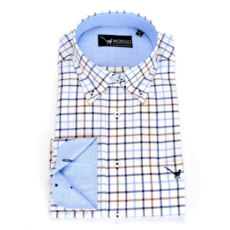 Maat Overhemd Heren.Mongo Heren Overhemd Burton 01 Maat S De Boer Drachten