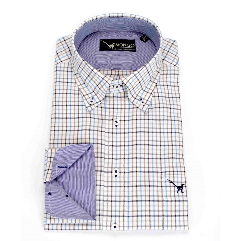 Maat Overhemd Heren.Mongo Heren Overhemd Burton 02 Maat 2xl De Boer Drachten