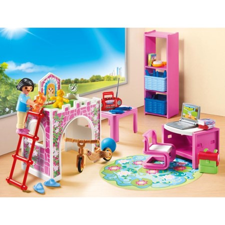 PLAYMOBIL City Life 9270 - Kinderkamer met hoogslaper