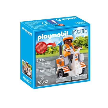 PLAYMOBIL City Life 70052 - Eerste hulp balans racer
