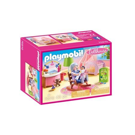 PLAYMOBIL Dollhouse 70210 - Babykamer