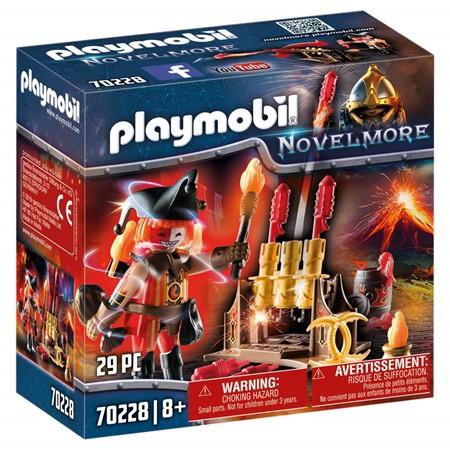 PLAYMOBIL Novelmore 70228 - Vuurmeester met vuurwerkkanon