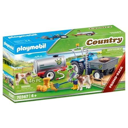 PLAYMOBIL Country 70367 - Landbouwer met maaimachine
