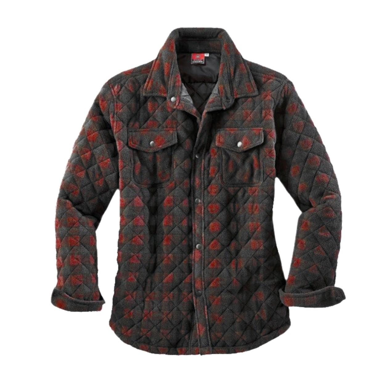 Rood Zwart Overhemd.Canadianline Overhemd Thermo Rood Zwart Maat 2xl De Boer Drachten