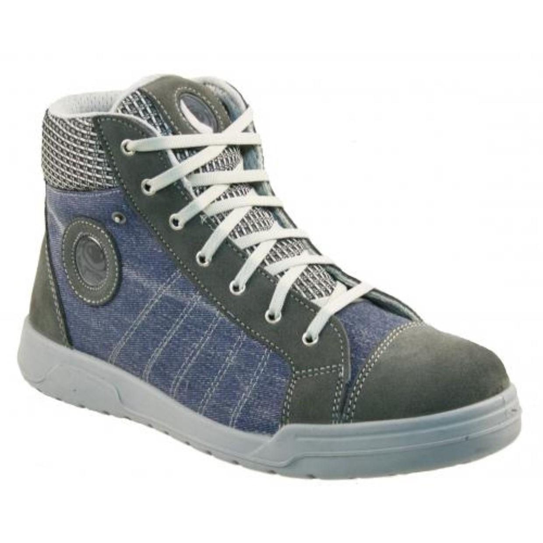 Sneaker Werkschoenen Dames.Python Werkschoenen Modena S3 Sneaker Blauw Grijs Maat 41 De Boer