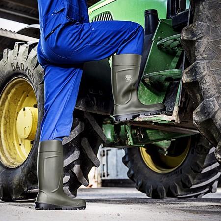 Bekina Boots Werklaars Agrilite S5 Groen Maat 38