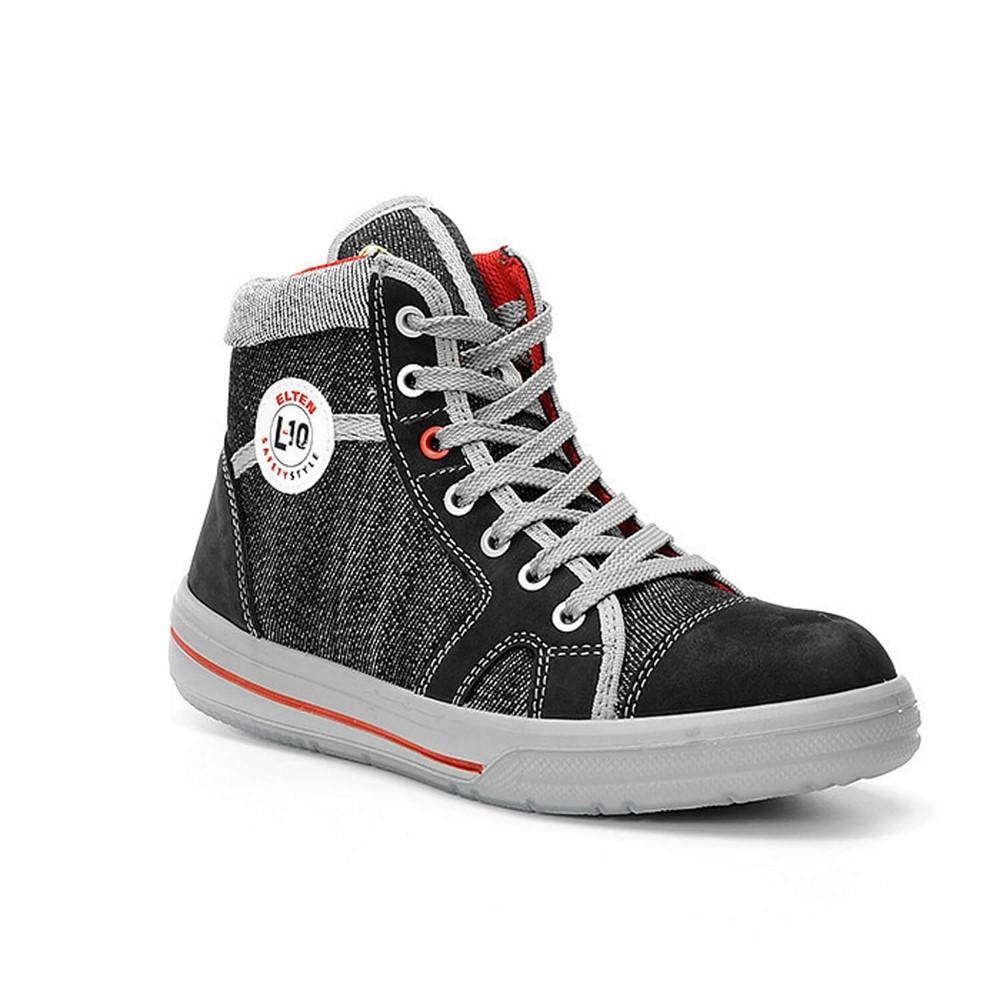 Afbeelding van Elten Werkschoenen Sensation Lady S2 Sneaker Zwart/Grijs Maat 36
