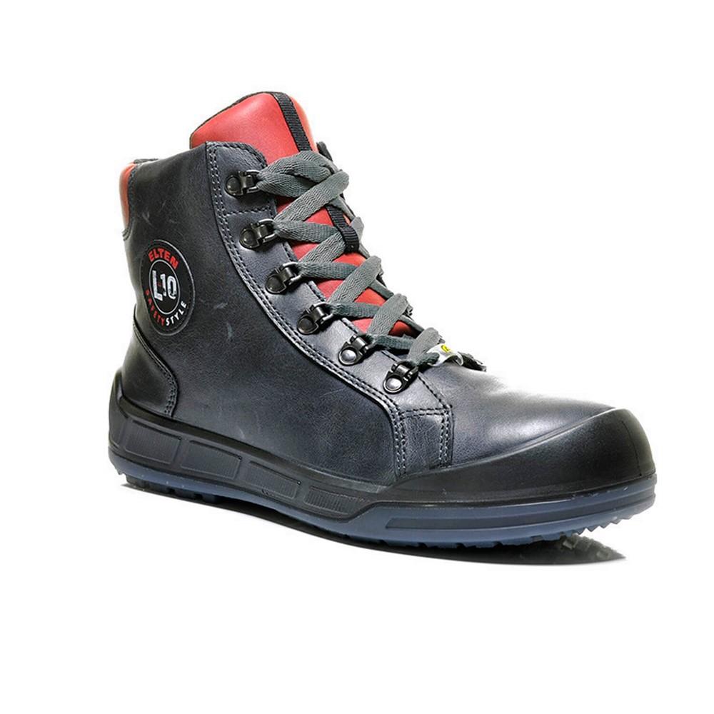 Afbeelding van Elten Werkschoenen Deluxe S3 Sneaker Zwart Maat 41