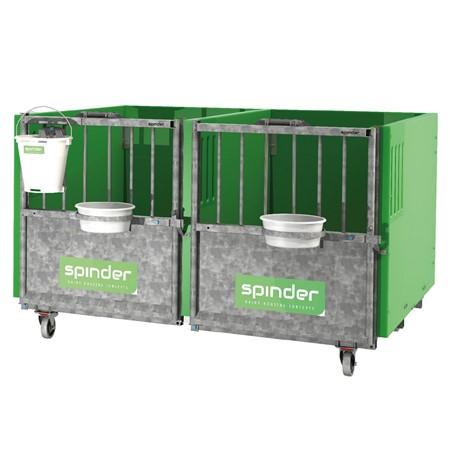 Spinder Arena Kalverbox (Kunststof) - Stereo 101 Cm