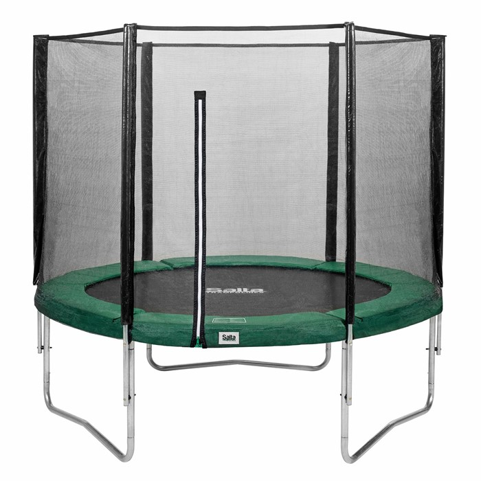 salta ronde combo trampoline 305 cm groen de boer. Black Bedroom Furniture Sets. Home Design Ideas