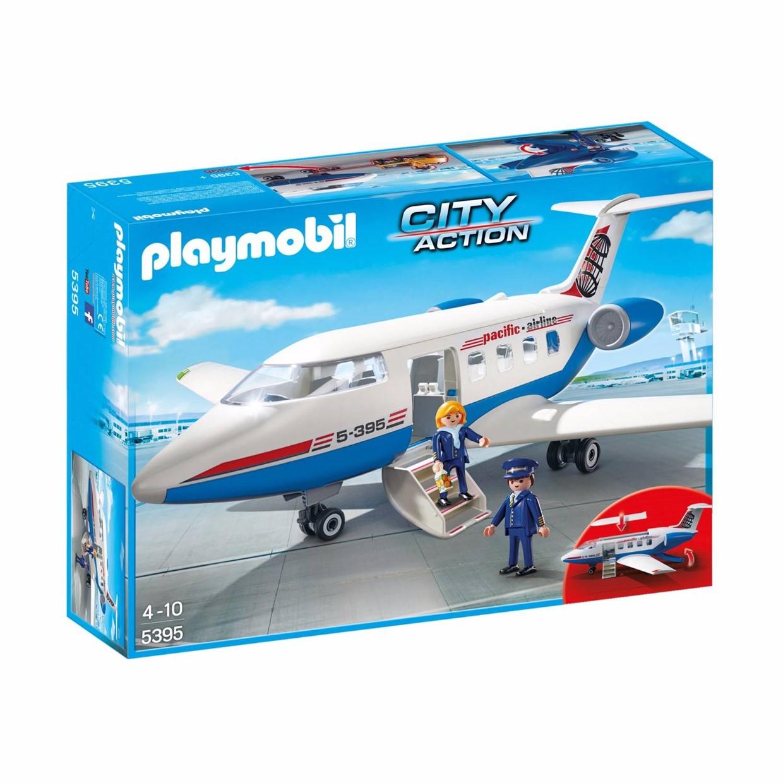 Playmobil City Action 5395 Chartervliegtuig De Boer Drachten