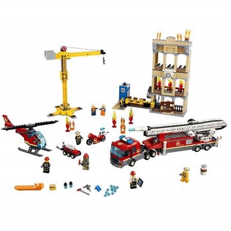 LEGO City 60216 - Brandweerkazerne in de Stad